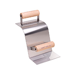 Stainless Steel Curb Tool--90 Degree Gutter