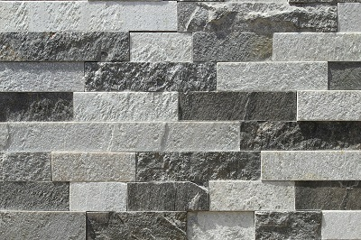 BW Stone EZ Set Charcoal White Modern Drystack, Random