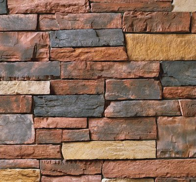 Cultured Stone Country Ledge, Red Rock