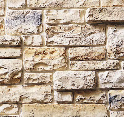 Cultured Stone Cobblefield, Texas Cream