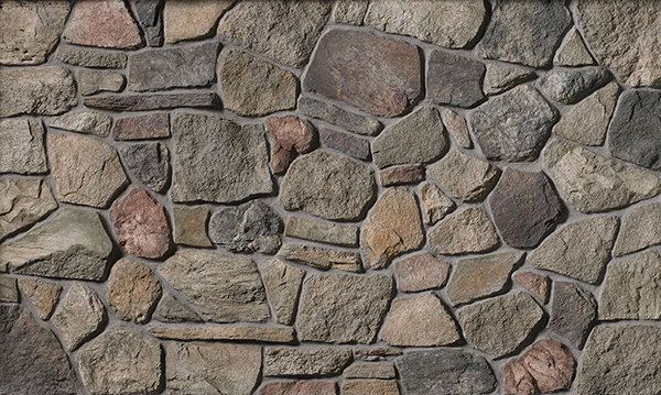Cultured Stone Old Country Fieldstone, Chard