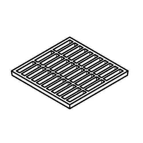 Ductile Iron Slotted Grating