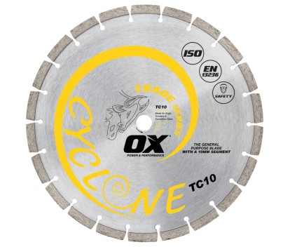 Forge Ox Tools Diamond Blade General Purpose / Concrete TC10