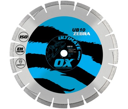 Forge Ox Tools Ultimate Segmented Diamond Blade- Abrasive UB10