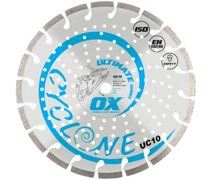 Forge Ox Tools Ultimate Segmented Diamond Blade- General Purpose / Concrete UC10