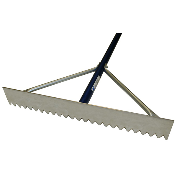 Magnesium Rake with Blue Handle