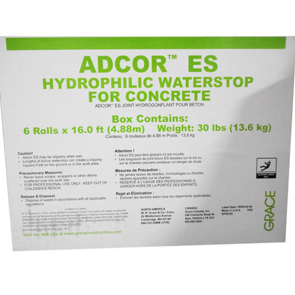 Waterstop Adcor