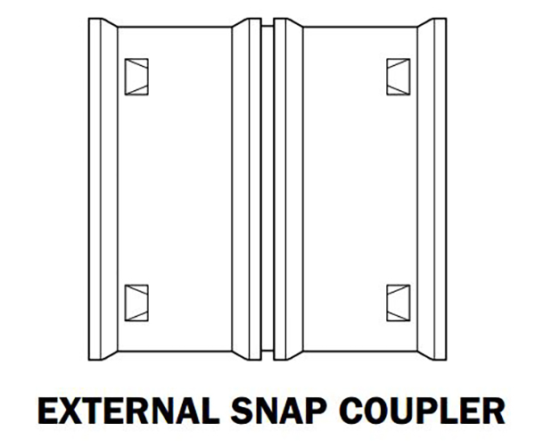 Hancor External Snap Coupler