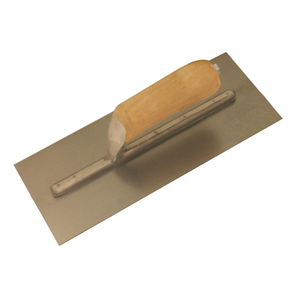 Hi-Craft Concrete Trowel with Wood Handle