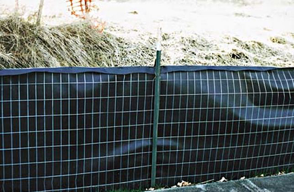 Silt Fence Black