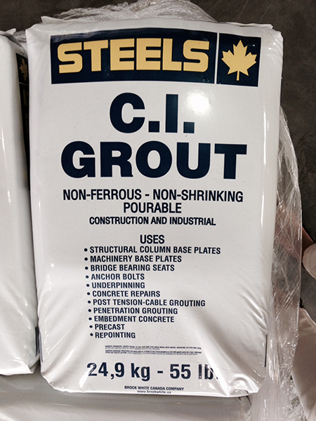 BW Specialty CI Grout