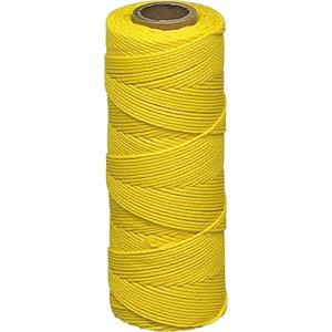 Braided Nylon Mason's Line - Yellow