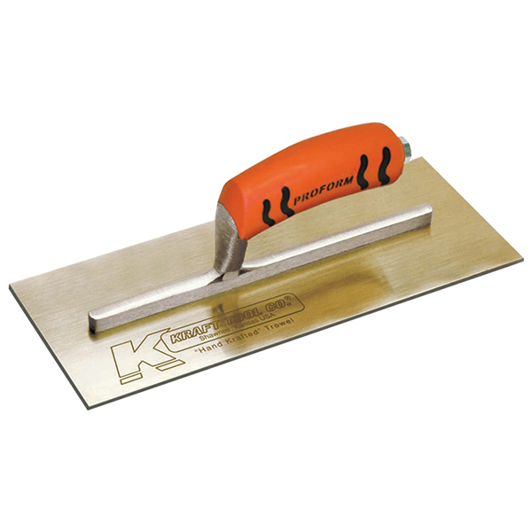 Golden Stainless Steel Trowel with ProForm Handle