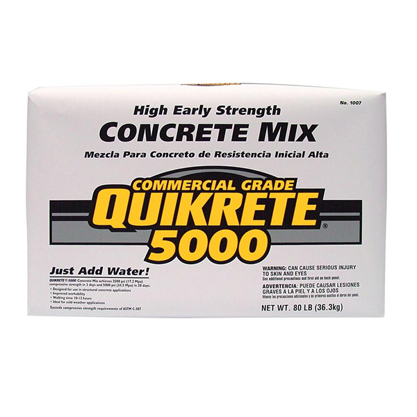 Quickrete 5000 Concrete Mix