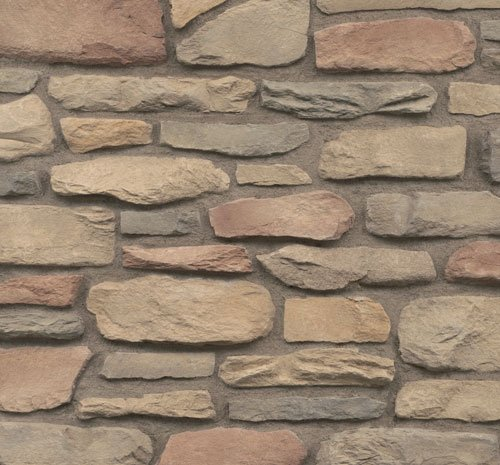 Cultured Stone Del Mare Ledge Sangria