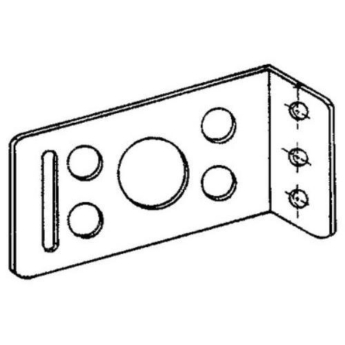 Fero Slotted L-Plate