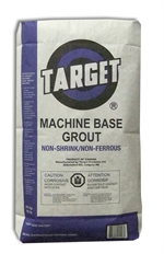 Target Machine Base Grout
