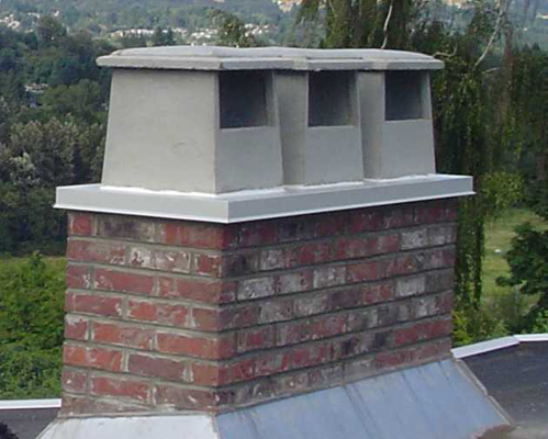 "Chimney Pot 8"" Side Open Hooded 8""x12"""